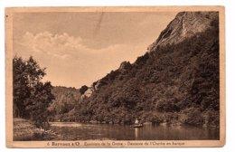 BELGIQUE - BARVAUX S/O - Environs De La Grotte - Descente De L'Ourthe En Barque - Animée - 1934 (Z57) - Durbuy