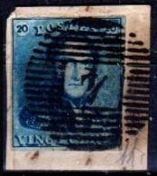 Belgio-352 - Emissione 1849 (o) Used - Senza Difetti Occulti. - 1849-1850 Medaglioni (3/5)