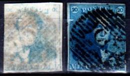 Belgio-354 - Emissione 1849 (o) Used - Senza Difetti Occulti. - 1849-1850 Medaglioni (3/5)
