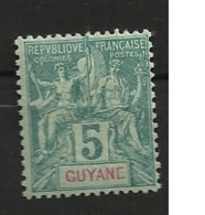 GUYANE                N° YVERT    33   NEUF SANS CHARNIERES     ( Nsch 01/25 ) - Neufs