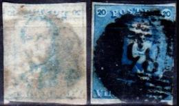 Belgio-356 - Emissione 1849 (o) Used - Senza Difetti Occulti. - 1849-1850 Medaglioni (3/5)