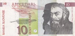 Slovénie - Billet De 10 Tolarjev - 15 Janvier 1992 - Primoz Trubar - Slovénie