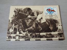 Sport ( 195 )  Thème : Paardensport  Course Aux Chevaux  Cheval  Paard - Montréal  Olympische Spelen - Paardensport