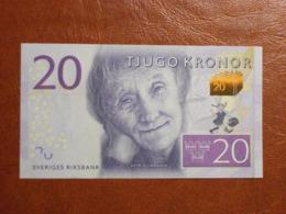 Suède - Billet De 20 Kronor - Astrid Lindgren - Neuf - Non Daté (2015) - Schweden
