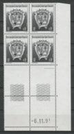 TAAF 1992 N° 163 ** Bloc De 4 Coin Daté Neuf MNH Superbe Armoiries Du Territoire Coats Of Arms - Tierras Australes Y Antárticas Francesas (TAAF)