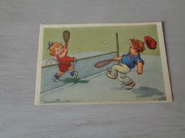 Sport ( 201 )  Thème :   Tennis   Illustrateur Castelli - Tennis