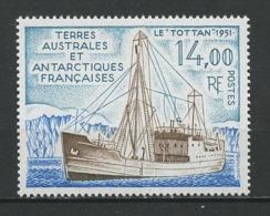 TAAF 1992 N° 169 ** Neuf MNH Superbe C 6,40 € Bateaux Le Tottan 1950 Navire Expédition Polaire Boats Ships Trans - Tierras Australes Y Antárticas Francesas (TAAF)