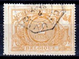 Belgio-358 - Emissione Per Pacchi Postali 1882-94 (o) Used - Senza Difetti Occulti. - Ferrovie