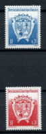 TAAF 1993 N° 171/172 ** Neufs MNH Superbes  Blasons Armoiries Du Territoire Coats Of Arms - Tierras Australes Y Antárticas Francesas (TAAF)