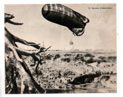 """MILITARIA . BALLON . DIRIGEABLE .""""  LA  SAUCISSE D'OBSERVATION """" . FICHE HISTOIRE 1914/1918 - Réf. N°23078 - - Historia"""