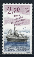 TAAF 1993 N° 174 ** Neuf MNH Superbe C 1,25 € Bateaux Boats Ships Navire Marion Dufresne Transports - Tierras Australes Y Antárticas Francesas (TAAF)