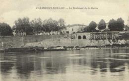VILLENEUVE SUR LOT  Boulevard De La Marine Peniche RV - Villeneuve Sur Lot