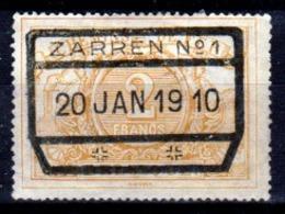 Belgio-361 - Emissione Per Pacchi Postali 1882-94 (o) Used - Senza Difetti Occulti. - Ferrovie