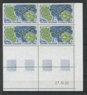 TAAF 1993  N° 175 ** Bloc De 4 Coin Daté Neuf MNH Superbe C 6,25 € Flore Lyallia Kerguelensis Flora - Tierras Australes Y Antárticas Francesas (TAAF)