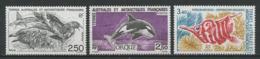 TAAF 1993 N° 176/178 ** Neufs MNH Superbes C 5,15 € Faune Oiseaux Birds Poissons Fishes Fauna Orque Animaux - Tierras Australes Y Antárticas Francesas (TAAF)