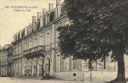 VILLENEUVE SUR LOT  L'Hotel De Ville RV - Villeneuve Sur Lot