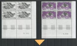 TAAF 1993 N° 176/178 ** Bloc De 4 Coins Datés Neufs MNH TTB Cote 25.75 € Faune Oiseaux Birds Poissons Fishes O - Tierras Australes Y Antárticas Francesas (TAAF)