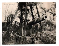 "MILITARIA . "" UN CANON LOURD CAMOUFLÉ "" . FICHE HISTOIRE 1914/1918 - Réf. N°23081 - - Historia"