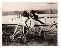 """MILITARIA . """" L'AVION CANON """" . FICHE HISTOIRE 1914/1918 - Réf. N°23082 - - Historia"""