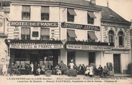 72 La Chartre Sur Le Loir Hotel Pension Pour Famille Location De Canots Propriétaire Et Chef De Cuisine Raoul Pasteau - France