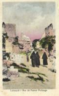 Lattaquié Rue De France Prolonge Colorisée RV - Syrie
