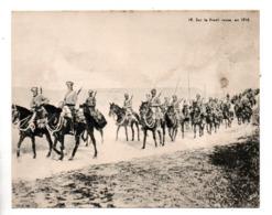 """MILITARIA . """" SUR LE FRONT RUSSE, EN 1916 """" . FICHE HISTOIRE 1914/1918 - Réf. N°23091 - - Historia"""