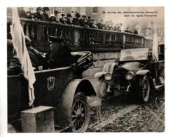 MILITARIA . Arrivée Des Plénipotentiaires Allemands Dans Les Lignes Française. FICHE HISTOIRE 1914/1918 - Réf. N°23092 - - Historia