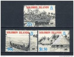 Solomon Islands 1988. Yvert 647-49 ** MNH. - Salomon (Iles 1978-...)
