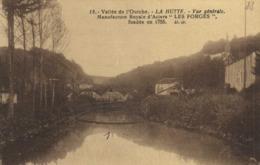 """Vallée De L' Ourche LA HUTTE Vue Generale Manufacture Royale D'Aciers """"LES FORGES"""" Fondée En 1755 RV - Other Municipalities"""
