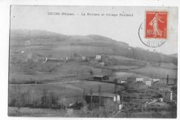 69  -  CPA  De  COURS  -  La  Rivière  Et  Village  Bauland  En  1910 - Cours-la-Ville