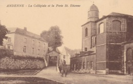 Andenne La Collegiale Et La Porte St Etienne - Andenne