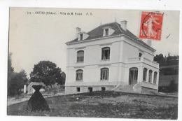 69  -  CPA  De  COURS  -  Villa  De  M . Poizat - Cours-la-Ville