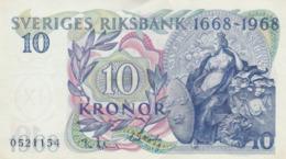 Suède - Billet De 10 Kronor - 1968 - P56a - Neuf - Schweden