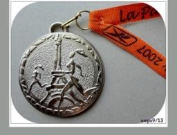 """MÉDAILLE  Course """" La Parisienne"""" ~~ 2007 - Francia"""