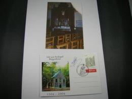 "BELG.2004 3260 FOTO & FDC BK With Signature Guillaume Broux (creator) "" TOURISME :Pilgrimage Places BUGGENHOUT "" - FDC"