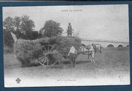SCENE DU CENTRE - La Fenaison - Agricultura