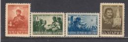 Bulgaria 1948 - A La Glorie De L'armee Sovietique, YT 580/83, Neufs** - 1945-59 People's Republic