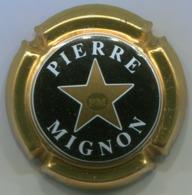 CAPSULE-CHAMPAGNE MIGNON Pierre N°13b Noir & Or Pâle - Mignon, Pierre