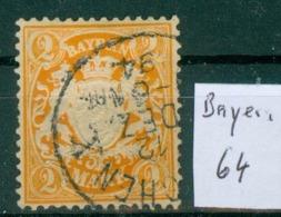 Bayern 64     O / Used  (L950) - Bavière