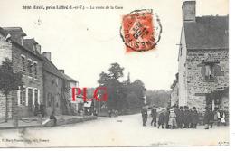 ERCE PRES DE LIFFRE La Route De La Gare - Altri Comuni