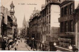 Caen - La Rue Saint-Jean N°31 - Habillements à L'industrie Française - Letellier - Caen
