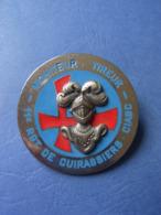 INSIGNE / BREVET CAVALERIE / 11° REGIMENT DE CUIRASSIERS / 11° RC - CIABC / ORIGINAL - Heer