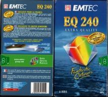 2 Cassettes VHS Neuves - EQ 240 EMTEC - Autres