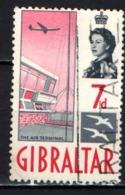 GIBILTERRA - 1960 - AEROPORTO - USATO - Gibraltar