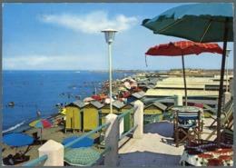 °°° Cartolina - Fiumicino Spiaggia Viaggiata °°° - Fiumicino