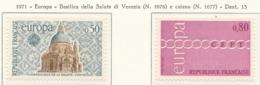 PIA - FRANCIA - 1971 : Europa  -  (Yv 1676-77) - 1971