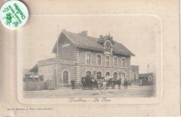 80 - Très Belle Carte Postale Ancienne De DOILLENS   La Gare - Doullens