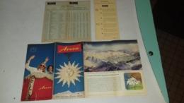 Dépliant Touristique D Arosa Suisse,switzerland - Tourism Brochures