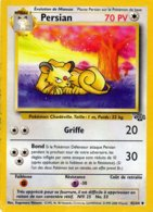 Carte Pokemon 42/64 Persian 70pv 1995 Wizards - Pokemon