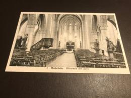 HOLLEBEKE Binnenste Der Kerk (Ieper) - Uitg. A. Hernaert - Ieper